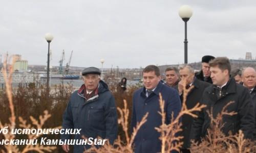 Губернатор А. И. Бочаров в Камышине. 25.12.2015 год