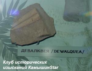 Отпечаток девалквеи в экспозиции Камышинского историко-краеведческого музея